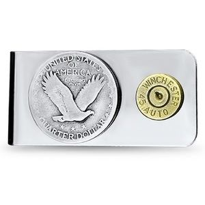 Other - Authentic Silver Eagle and Bullet Money Clip